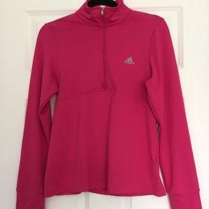 Adidas Pink Quarter Zip